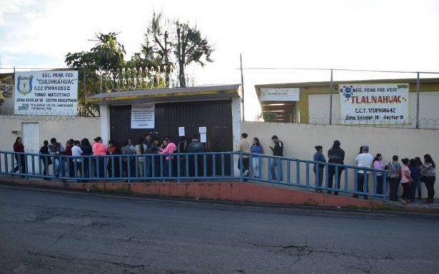 Siguen sin clases mil escuelas en Morelos
