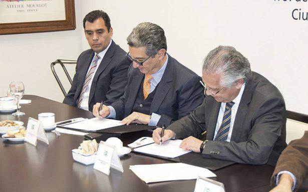Firma Bancomextcon ABM convenio de sustentabilidad