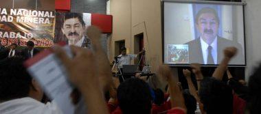 """""""¿Qué país nos espera?""""; Mineros en contra de candidatura de Gómez Urrutia al Senado"""