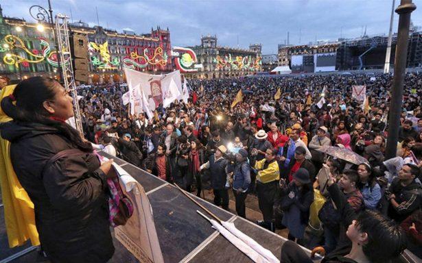 Marcha del Silencio concluye como un eco de hace 50 años en el Zócalo