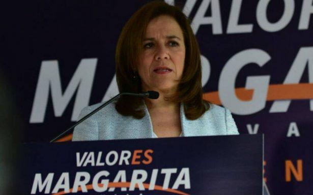 Zavala impugna ante el INE repartición de spots y tope de gastos