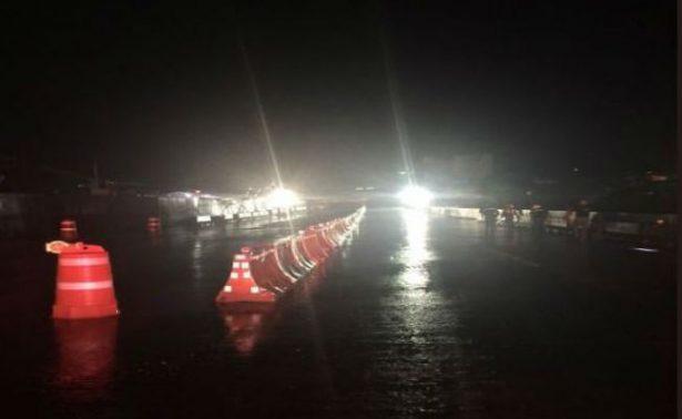 Por lluvias, cierran en su totalidad ambos sentidos del Paso Express