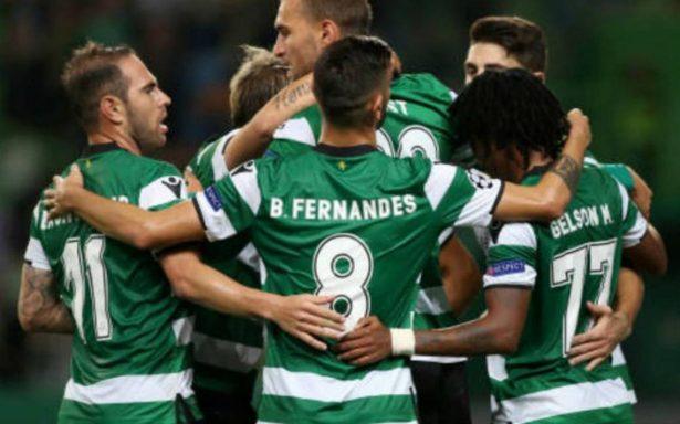 Sporting rasguña octavos en Champions y asegura plaza en Europa League