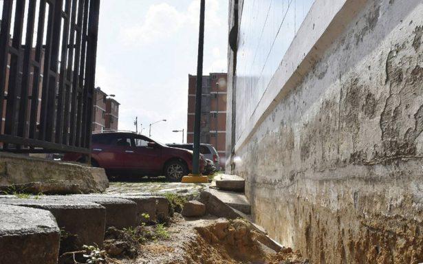 Luego del sismo 19:S, Iztapalapa sigue entre grietas y fracturas
