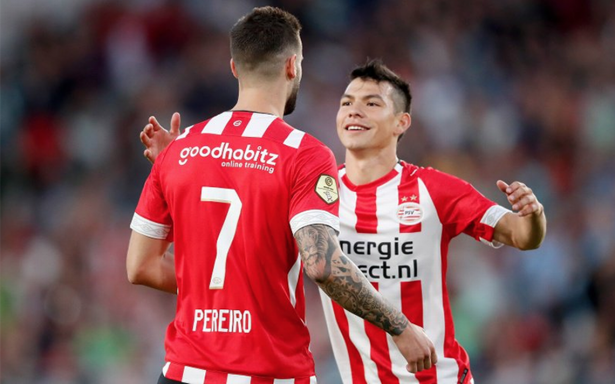 [Video] Chucky Lozano anota con el PSV y arranca temporada con el pie derecho