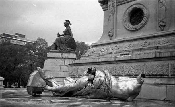 A 60 años del derrumbe del Ángel de la Independencia