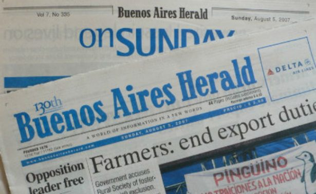 Cierra el Buenos Aires Herald, diario que denunció crímenes de la dictadura