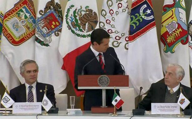 Arturo Nuñez, gobernador de Tabasco, asume gestión al frente de la Conago