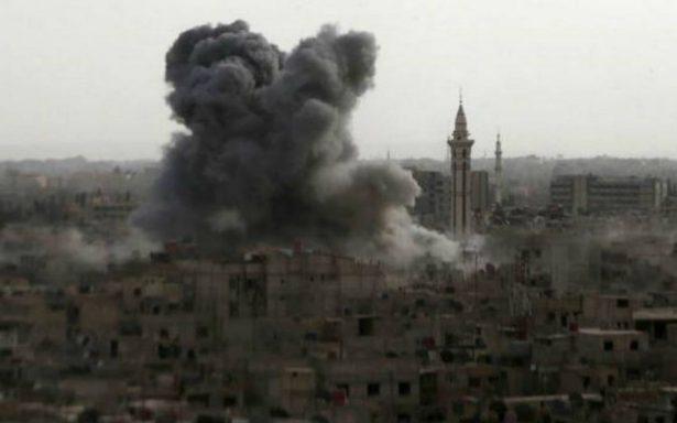 Siria acusa a Israel de haber perpetrado un bombardeo a su base aérea