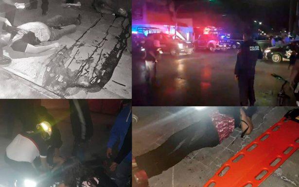 Comando asesina a tres hombres afuera de un bar en San Luis Potosí