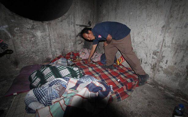 Después del sismo del 19 de septiembre, ¡se refugian en el drenaje!