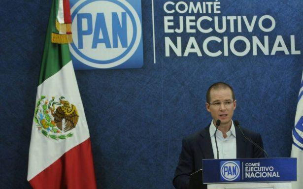Anaya confirma conflicto interno panista por llegada del nuevo Fiscal General