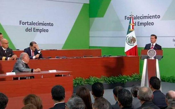 Empleos formales mejoran la calidad de vida: Peña Nieto