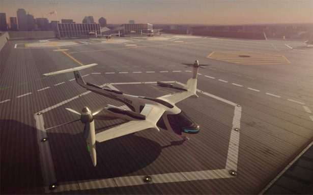 Uber se asocia con la NASA para crear ¡taxis voladores!
