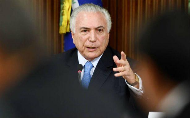 Juez ordena  a presidente brasileño Michel Temer  publicar sus estados de cuenta