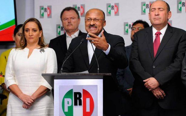 Juárez Cisneros renuncia como dirigente del PRI y cede lugar a Ruiz Massieu