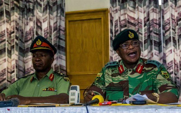 Militares niegan golpe de Estado en Zimbabue; garantizan seguridad de Mugabe