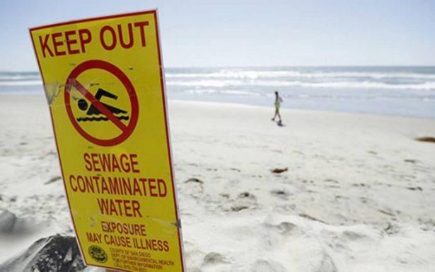 Buscan solución a derrame de aguas negras en  Tijuana