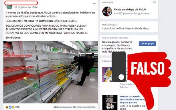 ¿Pánico por triunfo de AMLO vació los supers? no creas esta fake news