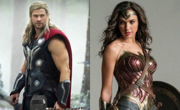 ¡Thor! Otro más que cae rendido a los pies de La Mujer Maravilla