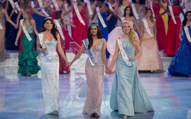 La mexicana Andrea Meza, segundo lugar en Miss Mundo 2017