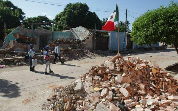 Declaran emergencia en 33 municipios de Oaxaca por sismo