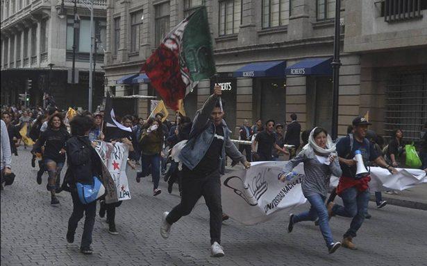 Transcurre sin incidentes movilización memorial del 2 de octubre