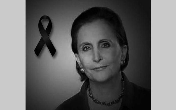 Lamenta Peña Nieto la muerte de Angélica Luna Parra, titular de Indesol