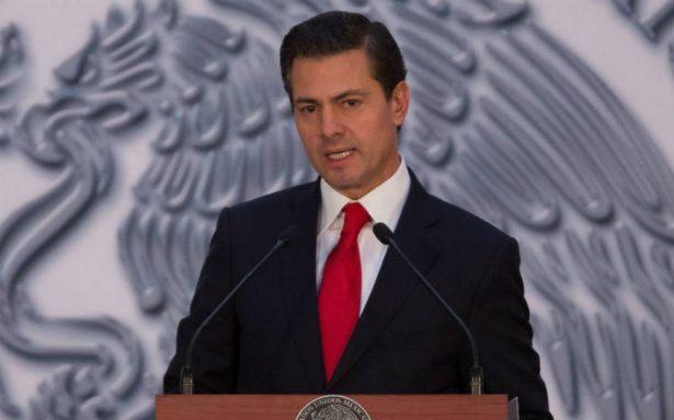 Construcción del muro fronterizo no es un gesto amistoso de Trump: Peña Nieto