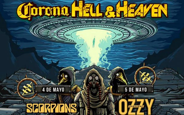Ozzy Osbourne, Judas Priest y Megadeth: por fin revelan cartel del Corona Hell & Heaven