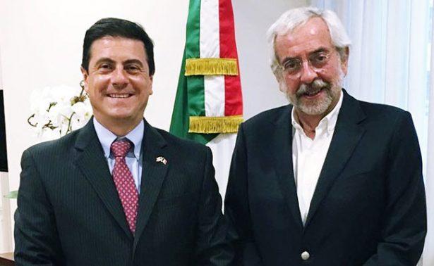 Enrique Graue visita en Washington a embajador de México en EU