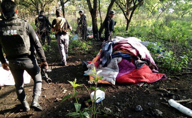 Hallan campamento de adiestramiento de sicarios en Jalisco
