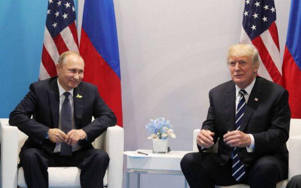 Trump anuncia que se reunirá con Putin durante su viaje por Asia