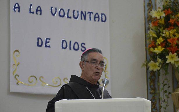 Obispo de Chilpancingo admite reunión con narcos para evitar asesinatos de candidatos