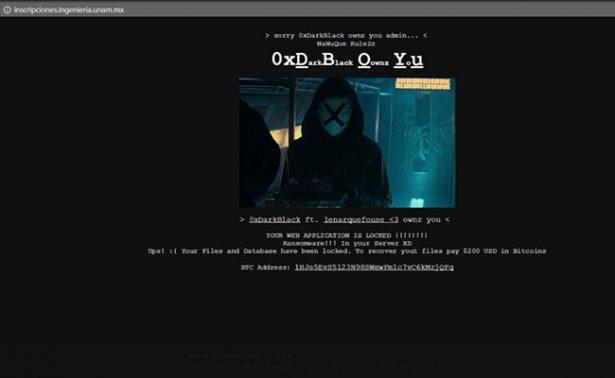 Lo irónico: Hackean servidor web de la Facultad de Ingeniería de la UNAM