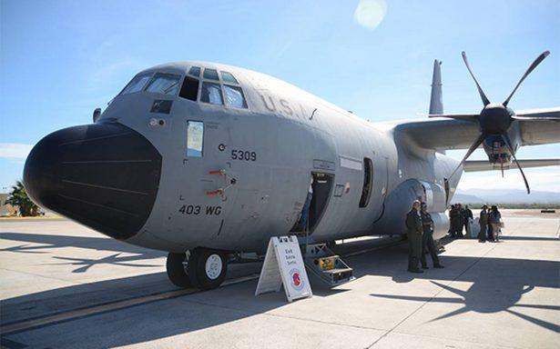 Conoce los aviones cazahuracanes que envía EU a México para prevenir desastres naturales