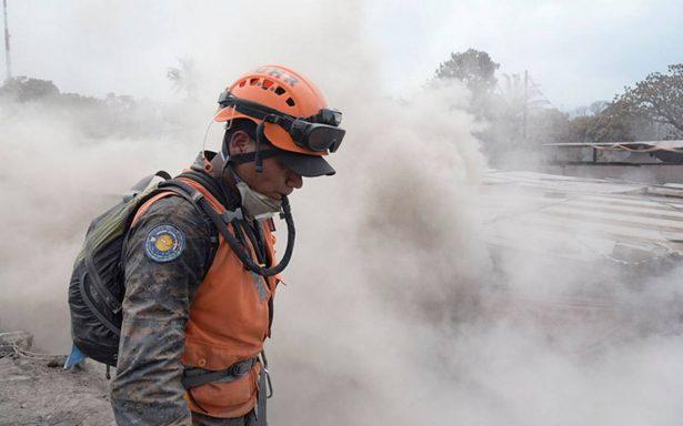 Muere en México víctima 112 de erupción del Volcán de Fuego