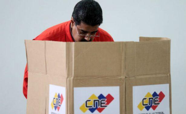 Con voto de Maduro, abre elección a la Asamblea Constituyente