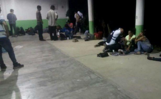 Abandonan a más de 150 centroamericanos en Veracruz