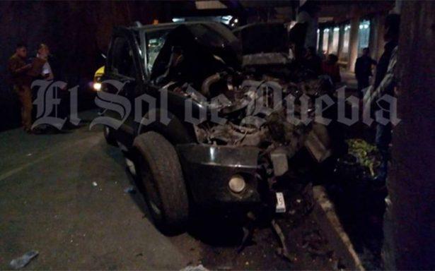 Muere en accidente vehicular el director operativo de la Policía Auxiliar de Puebla