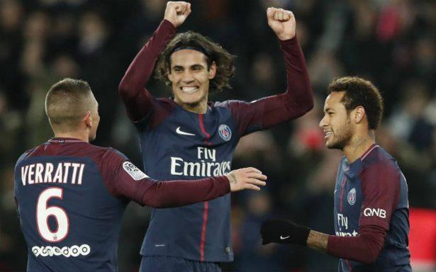 Cavani impone respeto y guia goleada al Nantes