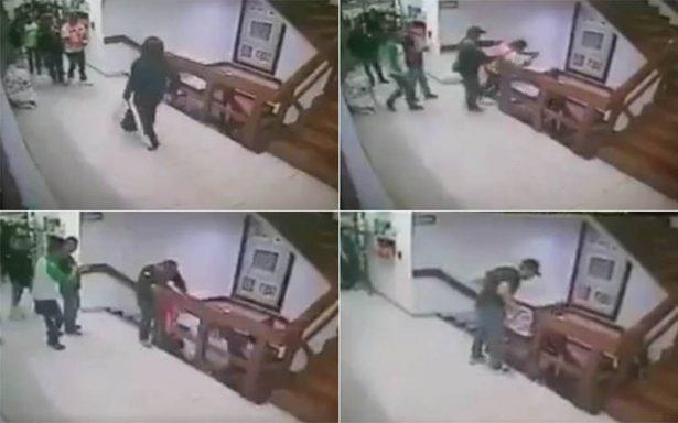 Secuestrador intenta huir de la SEIDO y se lanza de las escaleras