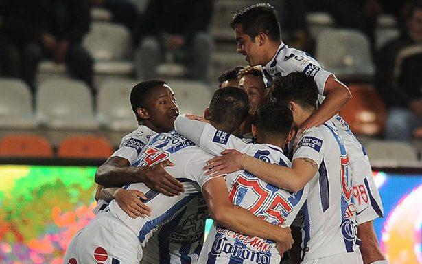 Pachuca gana 2-0 al Atlante y es finalista en la Copa MX