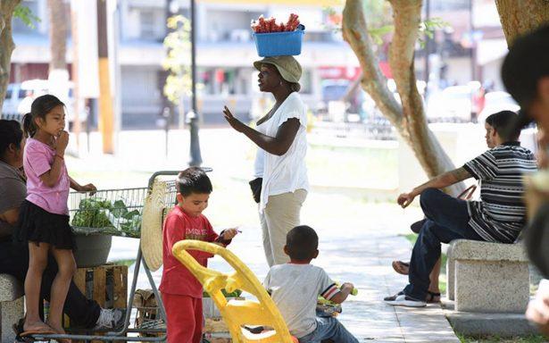 En México 50 haitianos obtienen estancia