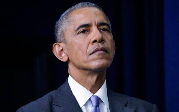 Obama asegura estar 'asqueado' por mal comportamiento sexual de Weinstein