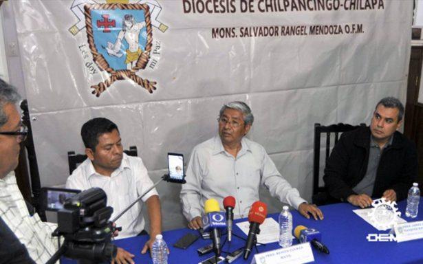 Diócesis de Chilpancingo-Chilapa rechaza declaraciones de la Fiscalía