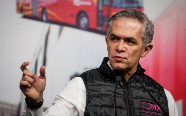 Mancera ve inviable propuesta de AMLO de dar salarios a 'ninis'