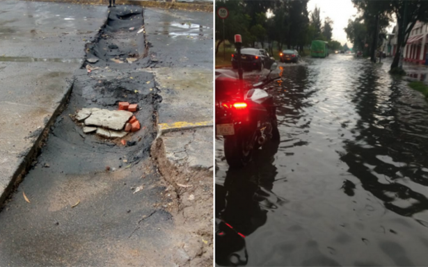 Atienden inundaciones por intensa lluvia en Iztapalapa, Tláhuac, Xochimilco y Gustavo A. Madero