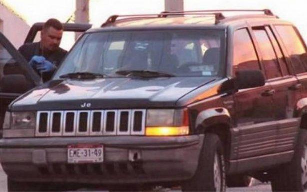 Localizan Jeep en el que atacaron a escoltas del gobernador