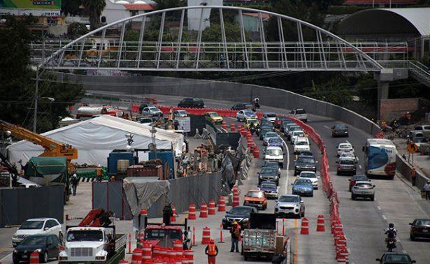 Viaducto en zona de socavón estará listo en 4 meses